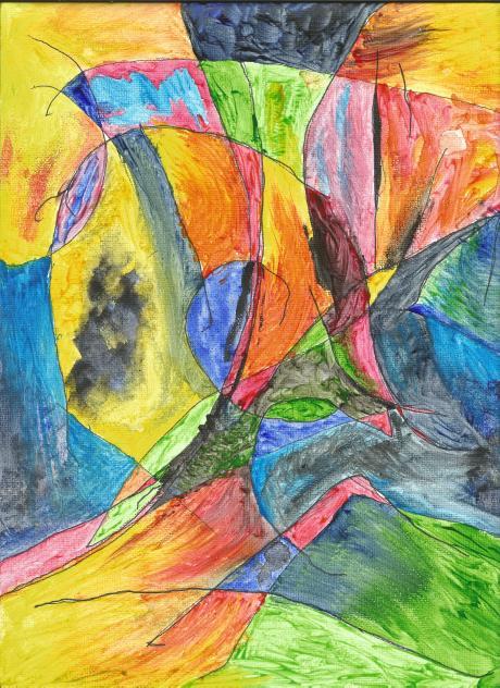 Watercolor by Golden Tarot